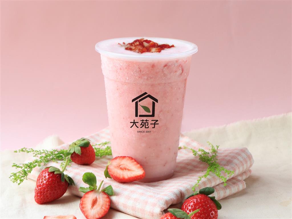 大苑子歷經3年!推出12小時內新鮮大湖草莓飲品!【食力foodNext 20191129】