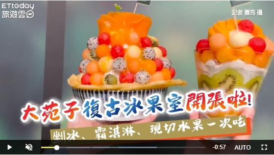20200722 影/緊來呷冰!大苑子「復古冰果室」新開張 剉冰、霜淇淋還有現切水果一次吃