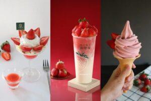 草莓控會失心瘋!大苑子「18顆鑽石級草莓冰沙」回歸,冬季草莓霜淇淋、聖代必吃【聯合新聞網 20201205】
