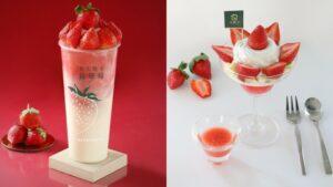 草莓控必喝!大苑子「莓好相遇」滿滿18顆草莓強勢回歸,還有冬季限定聖代、霜淇淋登場【美麗佳人 20201202】