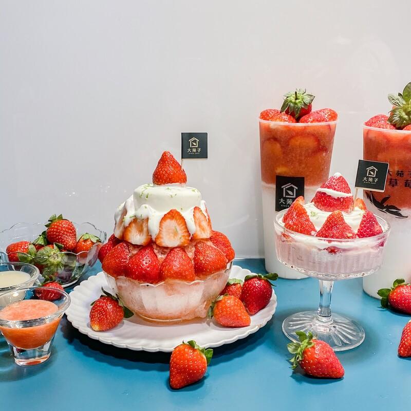 自己種草莓!大苑子推出全新2款草莓限定冰品,必吃「莓好雪藏」以鮮乳奶酪搭配鹹奶霜超療癒【美麗佳人 20201227】