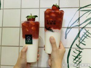 欠喝!4大浮誇系「夢幻草莓手搖杯」盤點 豪放新鮮草莓還加了奶蓋【ETtoday旅遊雲 20210112】