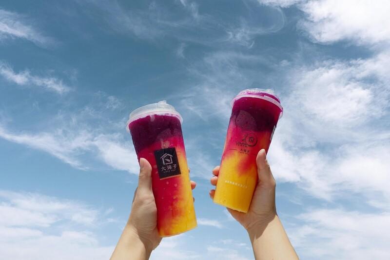 芒果尬火龍果!大苑子推3款火龍果系列飲品,加入芒果冰沙清爽涼感一次滿足【美麗佳人 20210604】