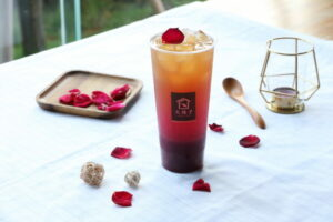 大苑子愛戀系浪漫無敵飲品「愛戀玫瑰」邀您一同過七夕!【 威傳媒 20210812】